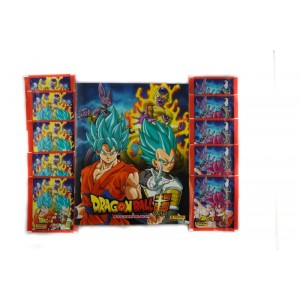 1alb FR+ 20 pochettes - PACK DECOUVERTE DRAGON BALL SUPER PANINI
