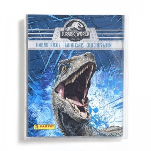 COLLECTEUR JURASSIC WORLD 2 FALLEN KINGDOM PANINI