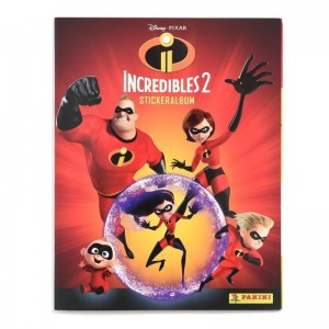 ALBUM NL INCREDIBLES 2 - PANINI