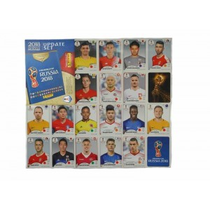 WORLD CUP 2018 RUSSIA - MERCATO 92 STICKERS + 4