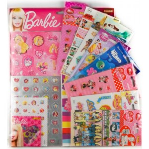 PACK GIRL - 9 STICKERS SHEETS