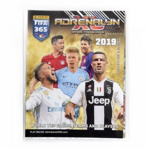 BINDER - FIFA 365 2019 TRADING CARDS ADRENALYN PANINI