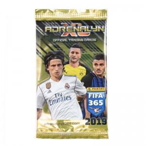 ZAKJE VAN 6 TRADING CARDS - FIFA 365 2019 ADRENALYN XL
