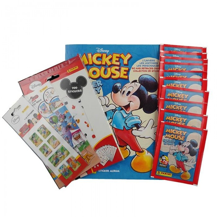PACK DECOUVERTE GARÇON FR - MICKEY MOUSE 90 YEARS PANINI