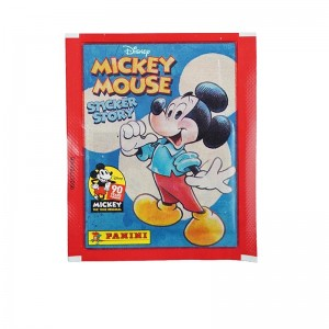 POCHETTE -5 STICKERS+1 CARTE - MICKEY MOUSE 90 YEARS PANINI