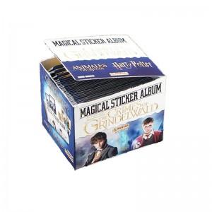 Boite 50 Pochettes de 5 stickers - ANIMAUX FANTASTIQUES 2