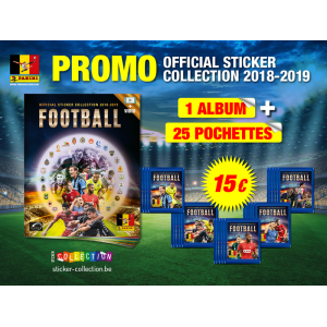 PACK DECOUVERTE - PRO LEAGUE 2019 PANINI