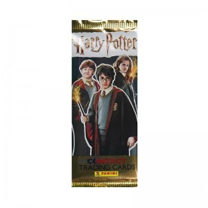 Pochette de 5 TRADING CARDS /24 - HARRY POTTER CONTACT PANINI