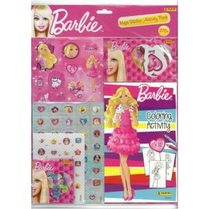 BARBIE (MEGA STICKER ACTIVITY PACK) - STICKER SHEET