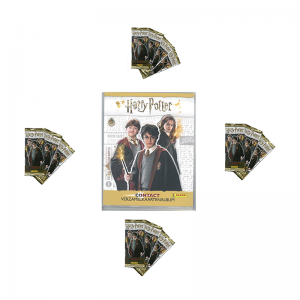1 BINDER NL+65 TRADING CARDS - SPECIALE AANBIEDING HARRY POTTER CONTACT