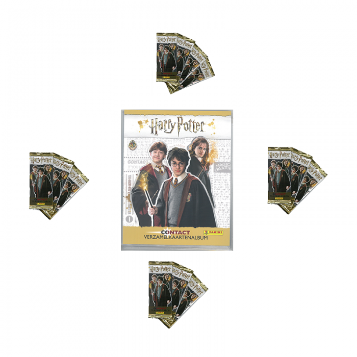 SPECIALE AANBIEDING NL TRADING CARDS - HARRY POTTER CONTACT