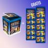 Boite 50 POCHETTES DE STICKERS + 10 poch gratuites - PRO LEAGUE 2019