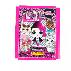 POCH 4 STICKERS ET 1 CARTE /50 - LOL 2 SURPRISE SOYONS AMIS PANINI