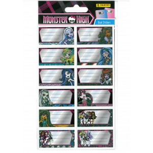 MONSTER HIGH (BOOK STICKERS) - STICKER SHEET