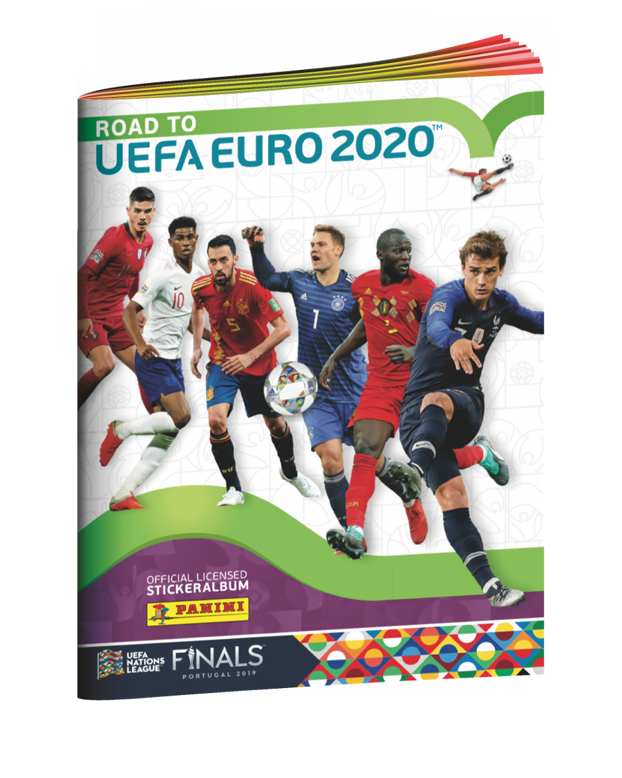 Album Stickers Road To Uefa Euro 2020 Panini