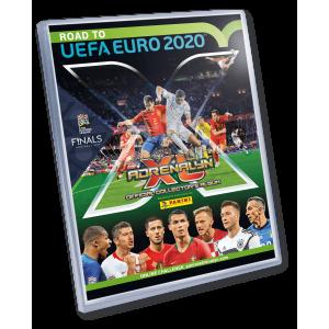 BINDER TRADING CARDS ADRENALYN - ROAD TO UEFA EURO 2020