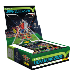 DOOS VAN 24 ZAKJES TCG ADRENALYN - ROAD TO UEFA EURO 2020