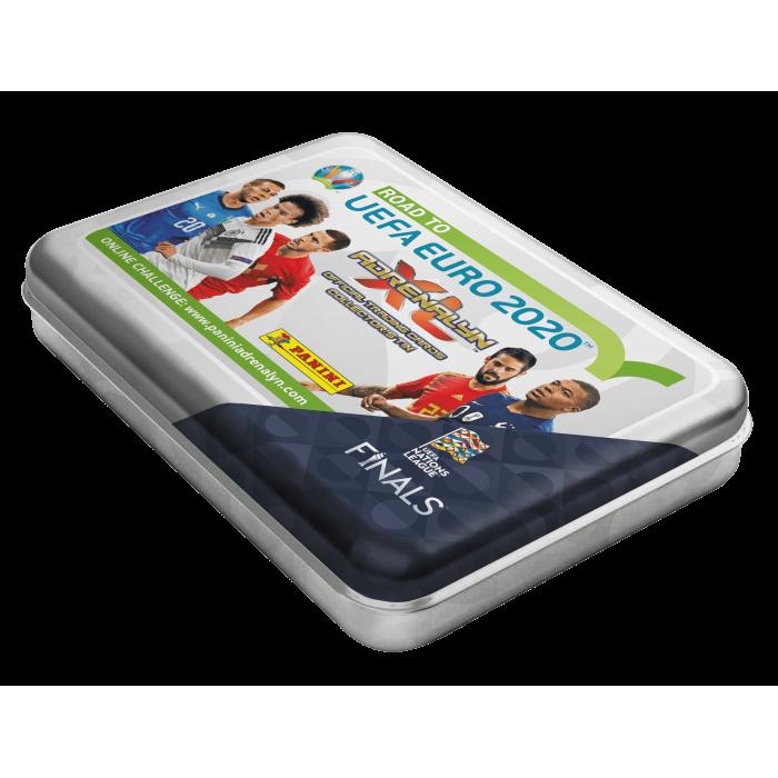 TIN BOX DE TCG ADRENALYN - ROAD TO UEFA EURO 2020 PANINI
