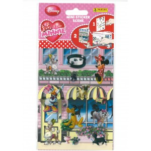 I LOVE MINNIE (MINI STICKERS SCENE) - STICKER SHEET