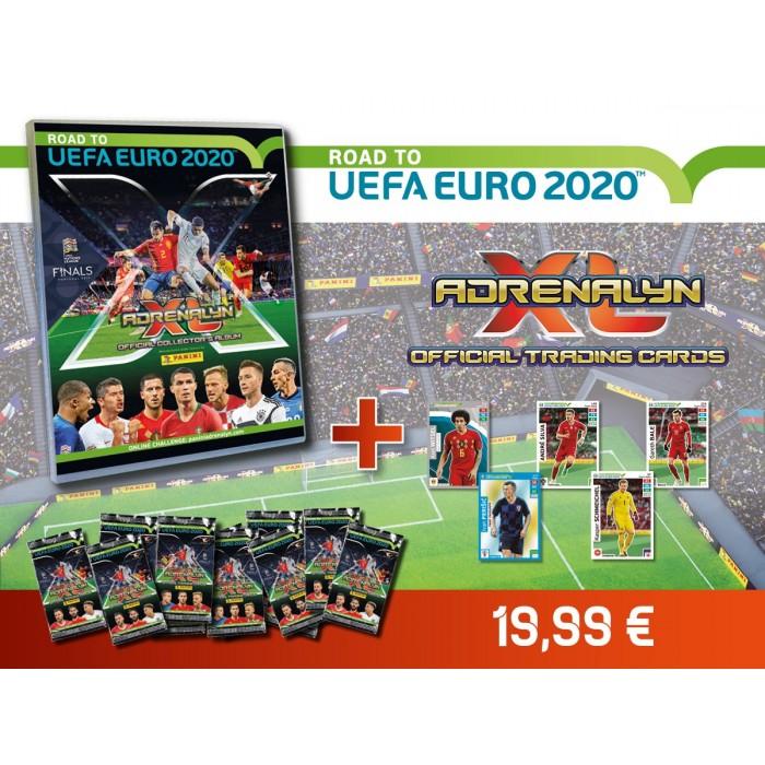 PACK DECOUVERTE TCG ADRENALYN- ROAD TO UEFA EURO 2020 PANINI