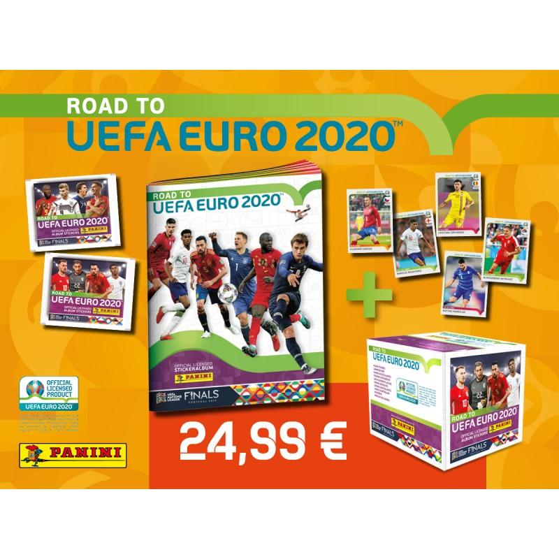 Panini Uefa Euro 2020 Il Giulebbe