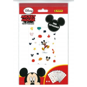 MICKEY MOUSE - FRIENDS (700 STICKERS) - STICKER SHEET