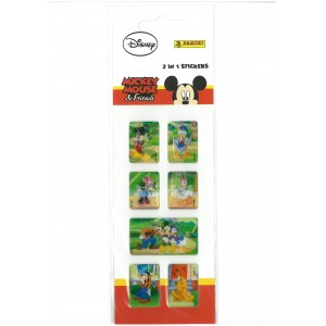 MICKEY MOUSE - FRIENDS (2in1 MINI) - STICKER SHEET