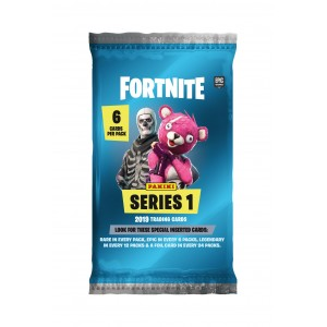 POCHETTE DE 6 TRADING CARDS - FORTNITE SERIES 1 PANINI