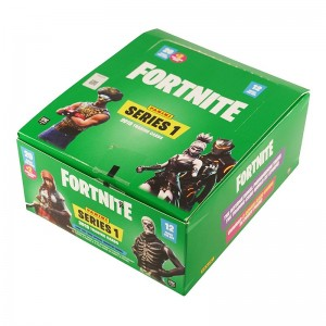 Boite 12 FAT PACKS 22 TRADING CARDS (20 cards+2 Bonus)- FORTNITE SERIES 1
