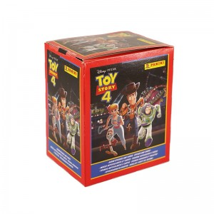 Boite 50 POCH 4 STICKERS ET 1 CARTE - TOY STORY 4 PANINI
