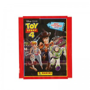 POCH 4 STICKERS ET 1 CARTE /50 - TOY STORY 4 PANINI