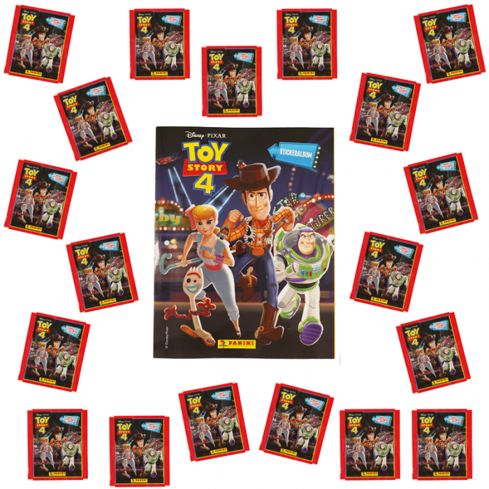 SPECIALE AANBIEDING NL - TOY STORY 4 PANINI