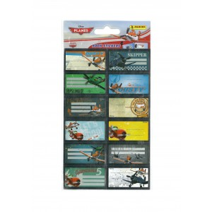 PLANES (BOOK STICKERS) - STICKER SHEET