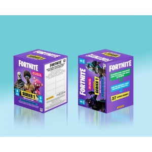 BLASTER BOX 37 TRADING CARDS - FORTNITE SERIES 1 PANINI