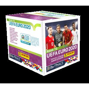 BOÎTE DE 50 POCHETTES - ROAD TO UEFA EURO 2020 PANINI