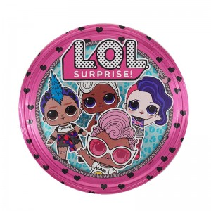 TIN BOX DE TRADING CARDS - L.O.L. SURPRISE 2 GLAMLIFE