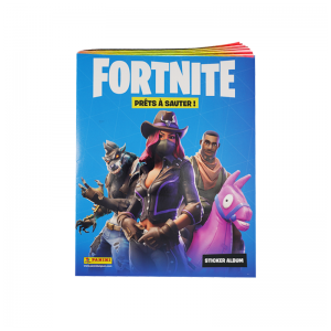 ALBUM STICKERS FR - FORTNITE 'PRÊTS À SAUTER' PANINI