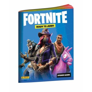 ALBUM STICKERS NL - FORTNITE 1 'READY TO JUMP' PANINI