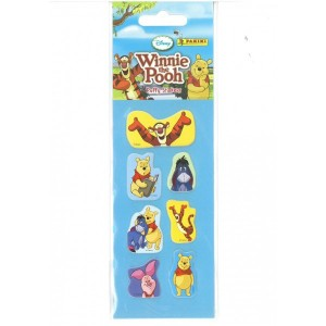 WINNIE L'OURSON (PUFFY STICKERS MINI) - STICKER SHEET