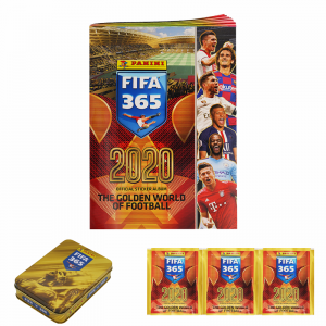 STARTER PACK - FIFA 365 2020 PANINI (1 album+3 poch+collector's tin)
