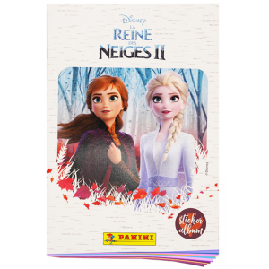 ALBUM FR FROZEN 2 PANINI - COLL HYBRIDE STICKERS+CARTES