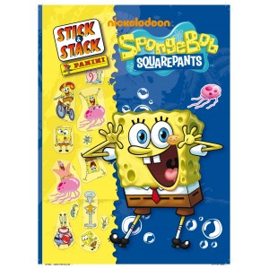SPONGE BOB - ALBUM STICK-STACK