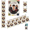 1 Album FR+ 20 pochettes - HARRY POTTER SAGA PANINI