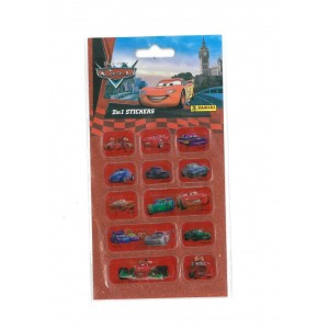 CARS (2 IN 1 STICKERS) -...