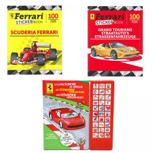 PACK-ALBUMS FERRARI  F1+...