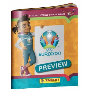 STICKERS ALBUM - UEFA EURO...
