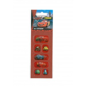 CARS (2 IN 1 STICKERS MINI) - STICKER SHEET