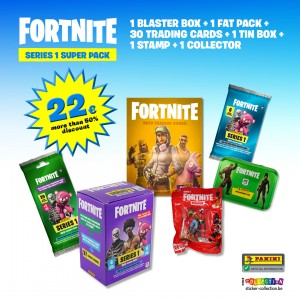 SUPER PACK PROMO - FORTNITE...