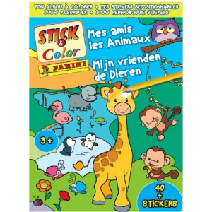 ANIMAUX (MES AMIS LES) - ALBUM STICK-COLOR