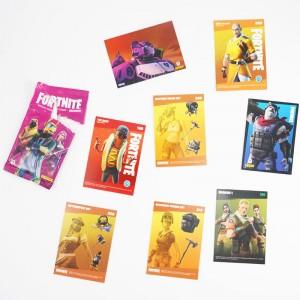 POCHETTE - 8 TRADING CARDS...